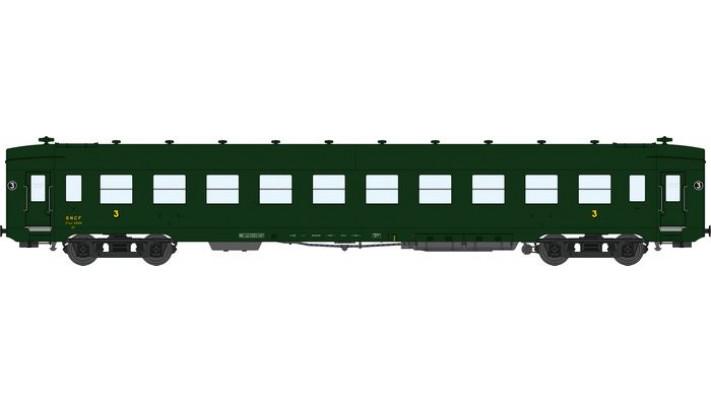 VOITURE DEV AO Courte C10 Vert 306, châssis noir, toit vert Ep.III A