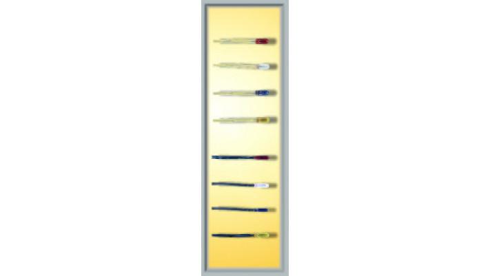 2 Glühlampen, gelb, d 2,3 mm, 12 V, 2 Kabel