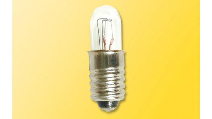 5 Kugellampen, weiss, d 8 mm, E5,5