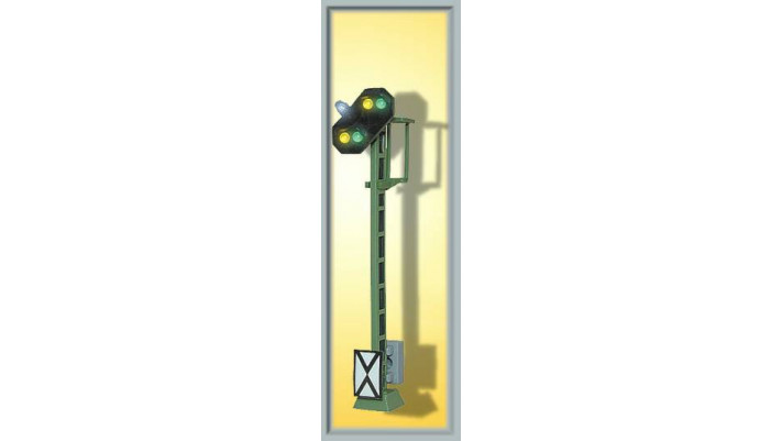 H0 Licht-Vorsignal mit Kennlicht