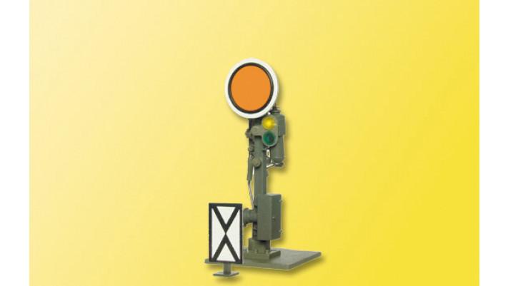 TT Form-Vorsignal DR, Scheibe beweglich