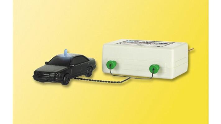 H0 Einfach-Blinkgerät, mit einer blauen Glühlampe