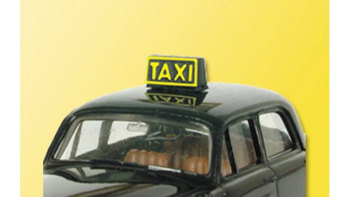 H0 Taxischild, beleuchtet