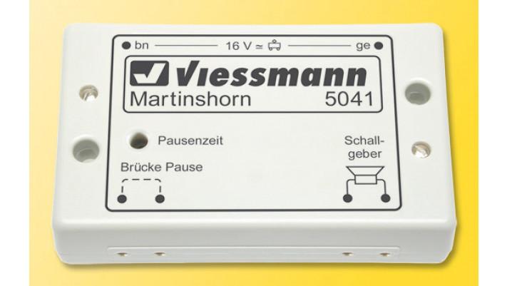 Martinshorn mit integriertem Interv
