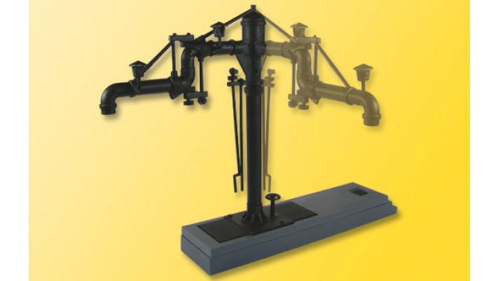 H0 Wasserkran für Dampflok-BWs