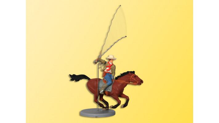 H0 Cowboy zu Pferd