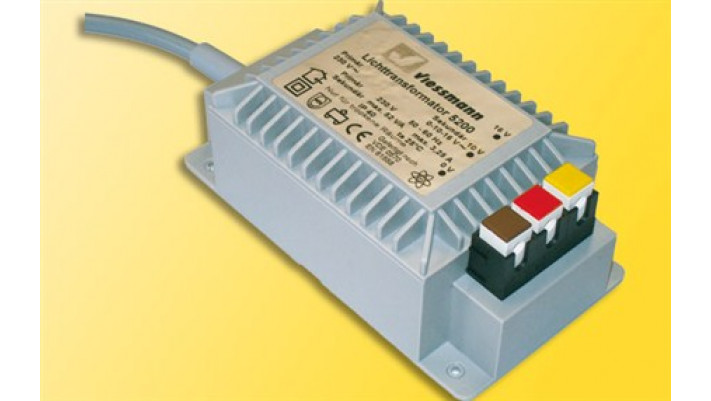 Lichttransformator 16V H0, TT, N