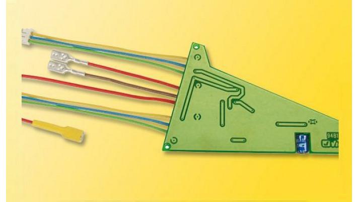 H0 Dreiwegweichendecoder für C-Gleis