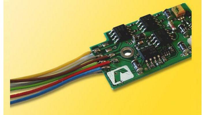 H0 Lastgeregelter Lokdecoder für Allstrommotoren