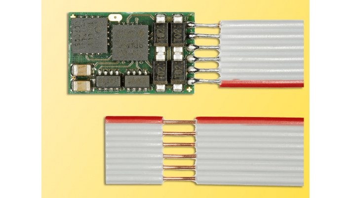 Lokdecoder DHU 161 für DCC und SELECTRIX n/n