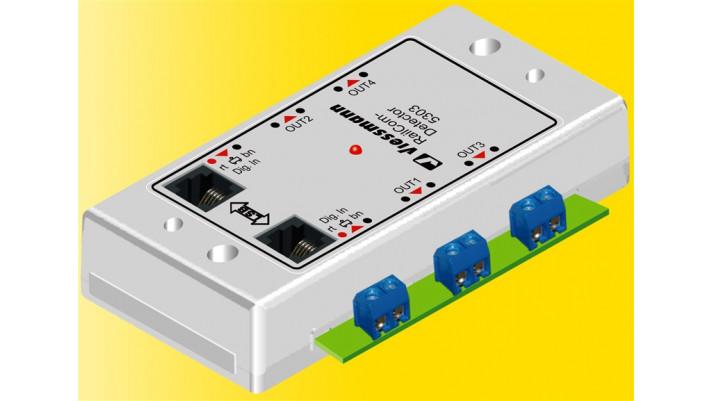 RailCom-Detector 4-fach
