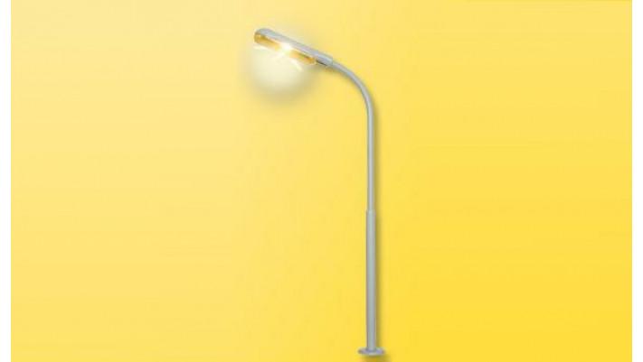 H0 Peitschenleuchte, LED gelb