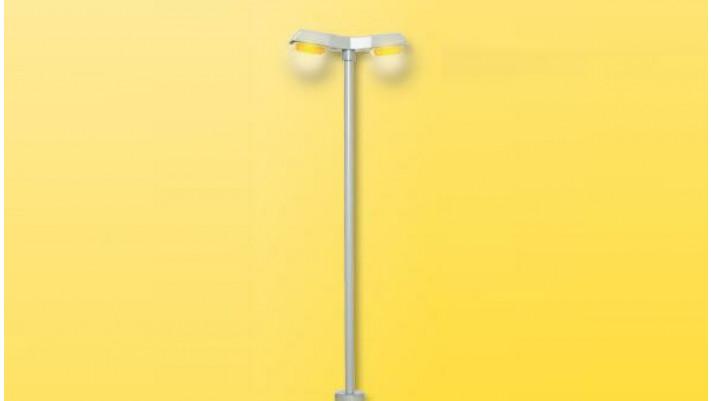 H0 Straßenl. mod. dop., LED gelb