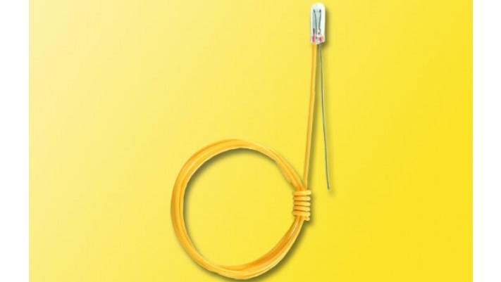 Glühlampe, klar, d 2,3 mm, 16 V, 1 Kabel