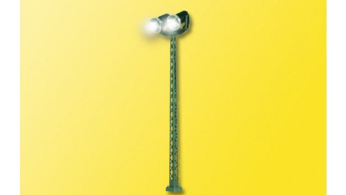 N Flutlichtstrahler dop., LED weiß