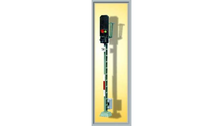 H0 Bausatz Licht-Blocksignal