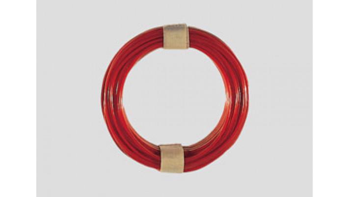 10 m Kabelring, 0,14 mm², rot