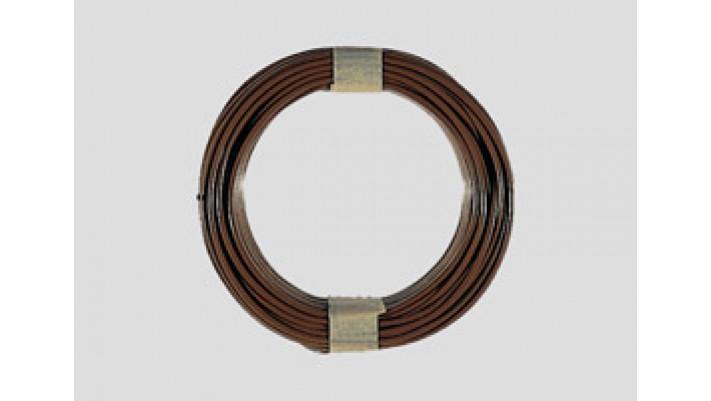 10 m Kabelring, 0,14 mm², braun