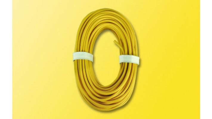 Hochstromkabel 0,75 mm², 10 m, gelb