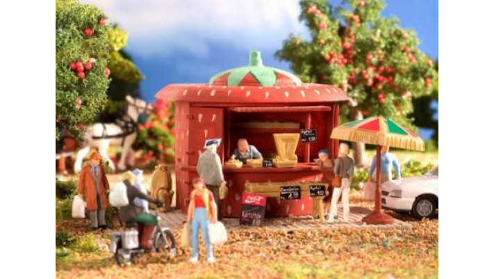 Kiosque de fraises