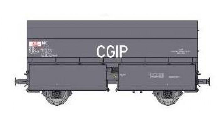 Wagon STEMI 56 2E Boîtes à Rouleau, sans Plateforme, Ep.IVV 'CGIP'