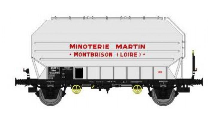"""Wagon Frangeco B, boîtes d'essieux à coussinets, freiné """"MINOTERIE MAR"""