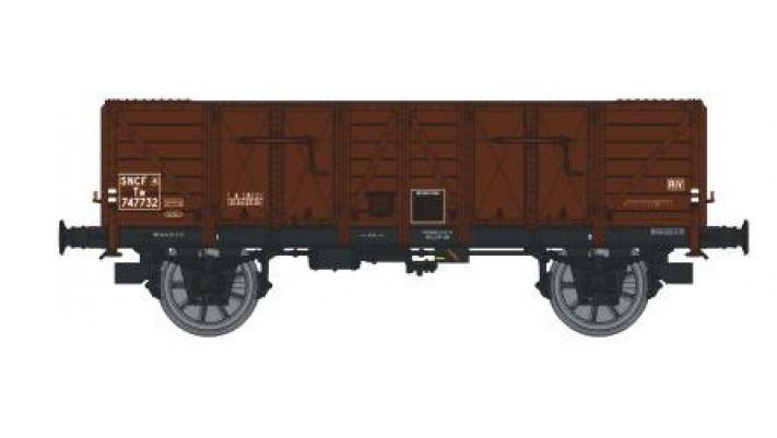 Wagon TOMBEREAU OCEM 29 Ep.III  Type A Bois