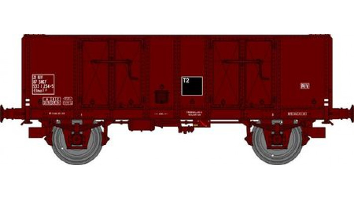 Wagon TOMBEREAU OCEM 29 Ep.IV  Type B Tôlé