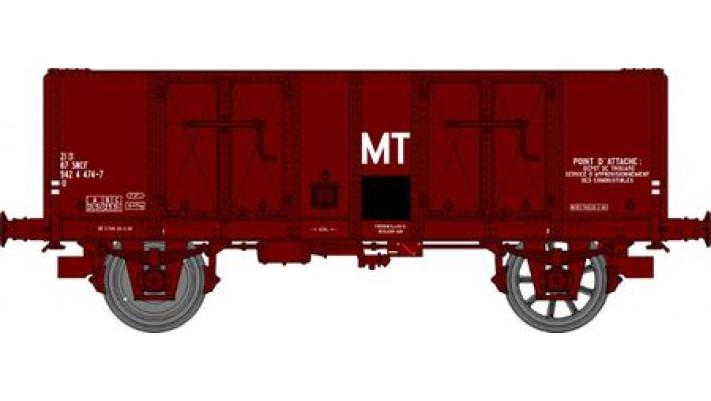 Wagon TOMBEREAU OCEM 29 Ep.IV  Type B Tôlé Marquage MT