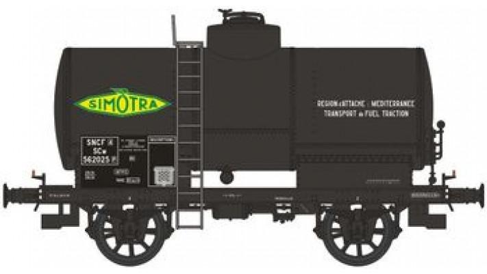 CITERNE OCEM 19 rivetée, boites U1, freiné, avec réchauffeur 'SIMOTRA