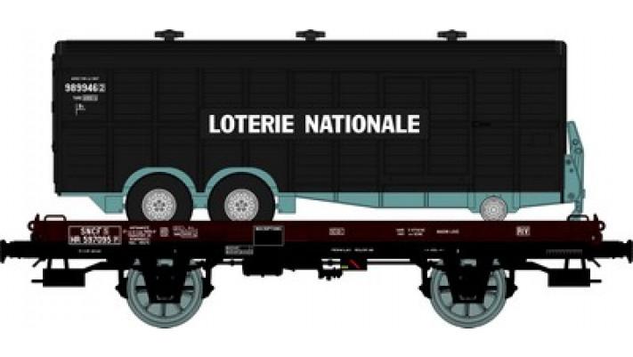 Wagon UFR MonoPorteur Ep.III Remorque double essieux   LOTERIE NATION
