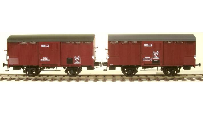 SET de 2 Primeurs PLM Ep.II Type I (1905) et Type II (1919) Roues à ra