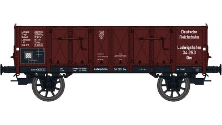 Wagon TOMBEREAU Om LUDWIGHAFEN Ep.III  DR  Caisse tolee