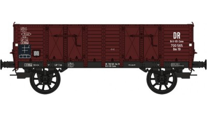 Set de 2 Wagons TOMBEREAU Om LUDWIGHAFEN Ep.III  DR  Caisse tolee