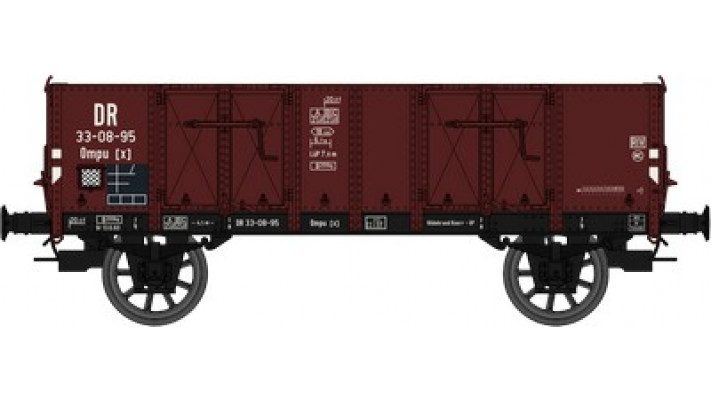 Wagon TOMBEREAU Om LUDWIGHAFEN Ep.III  DR  Caisse bois