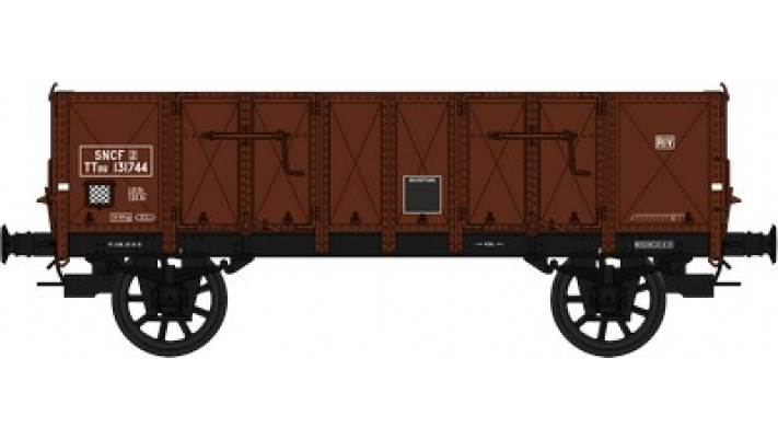 Set de 2 Wagons TOMBEREAU Om LUDWIG