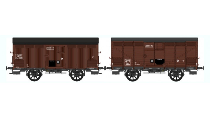 SET de 2 Primeurs  SNCF   Ep.III A Type I (1905) Roues à rayons - Châs