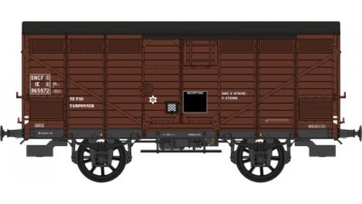 Primeur  SNCF   Ep.III B Type III (1919) Roues à rayons - Châssis PLM