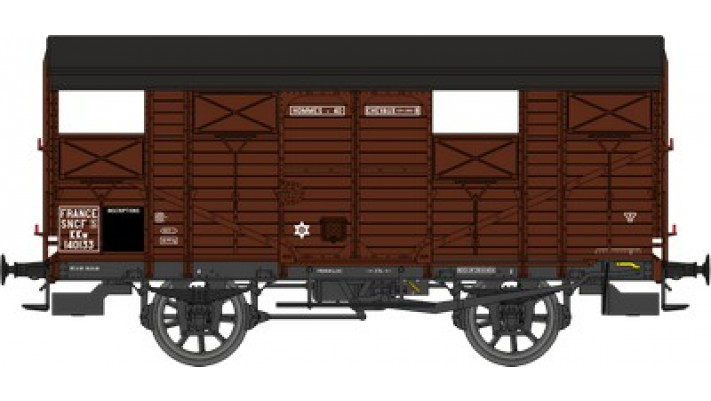 Wagon COUVERT 20T ex-PLM  SNCF   Ep
