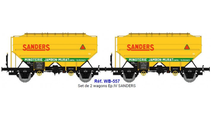 Set de 2 wagons  SANDERS  Ep.IV