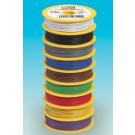 bobine de fil  0,14mm² 25m jaune