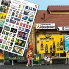 Affiches publicitaires brasserie
