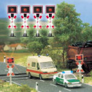 4 feux de signalisation