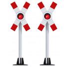 2 signaux avertisseurs DR sans commande HO