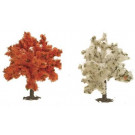 Arbres en fleurs 110 mm (2p)