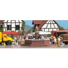 Fontaine de place du marché #