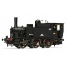 FS, steam locomotive Gr. 851, with electric lamps and original coal bo