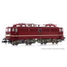 DR, loc elec classe 211, livrée rouge avec ligne blanche de fine décor
