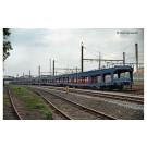 SNCF, set de 2 unités, fourgon porte-automobiles DD DEV 66, livrée ble