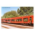 DB Autozug, 2-unit pack, DDm car transporter, red livery, period VI